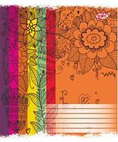 """Тетрадь """"Brisk Яскраві кольори"""" 12 листов в косую линию"""