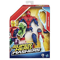 Разборные фигурки супергероев, Человек Паук - Spider Man, Super Hero Mashers, Marvel, Hasbro