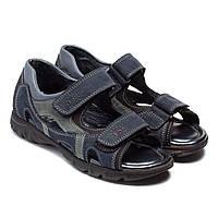 Сандалии на липучках для мальчика, размер 32-39