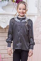 Sh8 - Школьная блузка для девочки , Barbaris