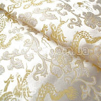 Ткань Ткань атлас с рисунком ( драконы )
