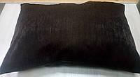 Подушка однотонная Софт Венге, размер 50х70см (наволочка+подушка)