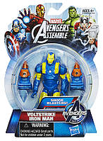 "Фигурка Железный Человек ""Коллекция Героев"" - Iron Man Voltstrike, Avengers, Assemble, Hasbro, 9.5CM"