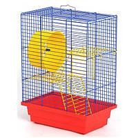 Клетка для грызунов ЛОРИ Дом краска, цинк (280*180*320)