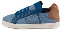Мужские кроссовки кеды Adidas Pharrell Williams (адидас) синие