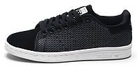 Мужские кроссовки Adidas Stan Smith (адидас стен смит) черные