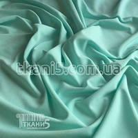 Ткань Трикотаж масло (голубая мята)