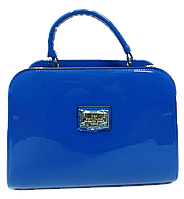 Сумка женская голубая классическая D&K