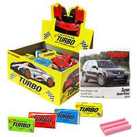 Жевательная резинка Turbo с вкладышем