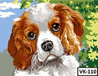 Картина на холсте по номерам VK 110  40x30см