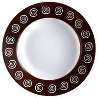 Тарелка суповая LUMINARC SIROCCO BROWN