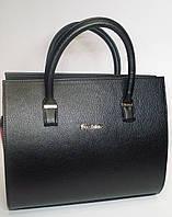 Женская каркасная сумка черного цвета