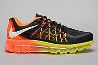 Кроссовки Nike Air Max 2015 (Black/Orange/Yellow)