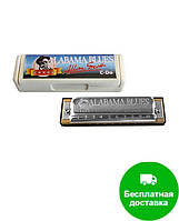 Губная гармошка Hohner М50201 C Alabama Blues