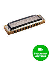 Губная гармошка Hohner М533056 E-major Blues Harp