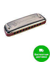 Губная гармошка Hohner М542086 G-major Golden Melody