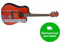 Электро-акустическая гитара Cort MOTOR OIL 2 (BKS)