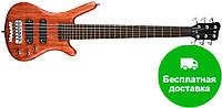 Бас-гитара Warwick CORVETTE STANDARD BUBINGA 6 (NATURAL)
