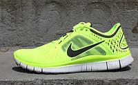 "Кроссовки Nike Free Run 3 ""Volt""."
