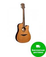 Электроакустическая гитара LAG Tramontane T100DCE уценена