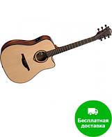 Электроакустическая гитара LAG Tramontane T500DCE