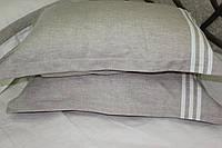 Льняное постельное белье 160х220 с простыней 180х260 из белого льна