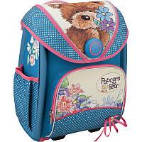 Ранец школьный ортопедический Kite 505 Popcorn Bear каркасный для девочки (PO16-505S)