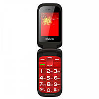 Телефон Bravis CLAMP Red