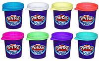 Игровой набор из 8 баночек Плей До Плюс Play-Doh