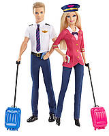 Набор кукол Барби и Кен Barbie Careers Barbie and Ken Doll Giftset (2-Pack)