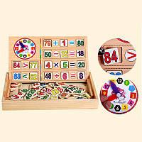 Набор, игра Познавательная арифметика и математика, развивающие, обучающие игрушки