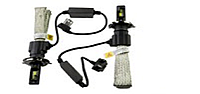 Лампа LED H4 12v-24v 5500k F2 биксенон