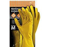 Перчатки защитные резиновые