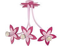 FLOWERS  PINK III zwis