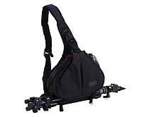Сумка-рюкзак Caden K1 для зеркальных фотоаппаратов Nikon, Canon, Sony, Pentax - Black