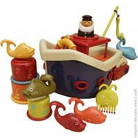 Игрушка Для Ванной Battat Игровой набор - Ловись, Рыбка (для игры в ванной,12 аксессуаров) (BX1012Z)