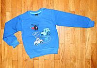 Детский джемпер для мальчика Car 7/8 лет синий