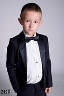 Школьная форма для мальчика Турецкая костюмная ткань черного цвета