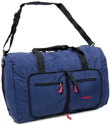 Дорожная компактная сумка из нейлона Members Holdall Ultra Lightweight Foldaway Small 39 Navy, 922790 синий