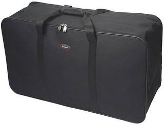 Прекрасная дорожная сумка из полиэстера 110 л. Members Jumbo Cargo Bag Extra Large 110 Black, 922786 черный