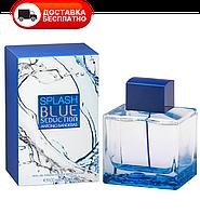Мужская туалетная вода ANTONIO BANDERAS Blue Splash Seduction EDT 100 ml