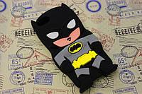 Резиновый 3D чехол для iPhone 5/5S Бетмен