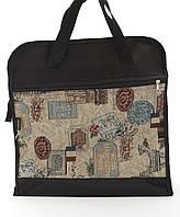 Объемная женская сумка для покупок WALLABY art. 2703