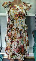 Платье летнее шифоновое