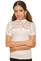 Детские школьные блузы для девочек
