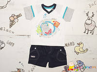 Костюм детский на лето для мальчиков Garden Baby (Гарден Беби)