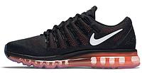 Мужские кроссовки Nike Air Max 2016 (найк аир макс) черные