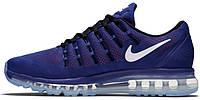 Мужские кроссовки Nike Air Max 2016 (найк аир макс) синие
