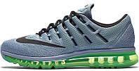 Мужские кроссовки Nike Air Max 2016 (найк аир макс) серые