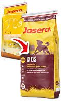 Josera (Йозера) Kids корм Кидз для активно растущих щенков средних и крупных пород, 15 кг.